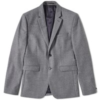 Acne Studios Aron Flannel Jacket Grey