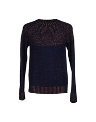 Kai Aakmann Knitwear Jumpers Men Dark Blue