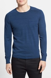 J. Lindeberg 'Anders' Crewneck Sweater Blue