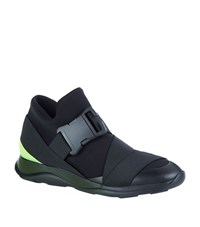 Christopher Kane Neon Strap Sneakers Male Black