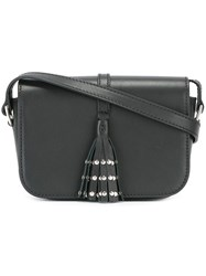 Steffen Schraut Tassel Detail Crossbody Bag Black