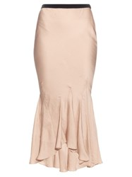 Haider Ackermann Myristicin Bias Cut Satin Skirt