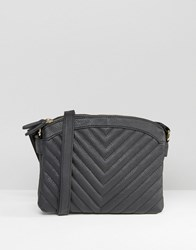 New Look Quilted Crossbody Bag Black