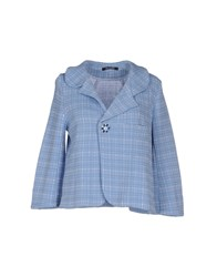Scooterplus Suits And Jackets Blazers Women Sky Blue