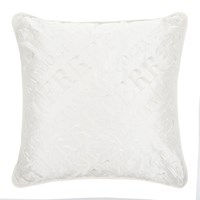 Gianfranco Ferre Logo Cushion White