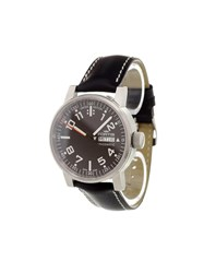 Fortis 'Spacematic' Analog Watch Stainless Steel