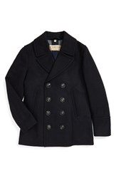 Burberry Men's Brit 'Kirkham' Wool And Cashmere Peacoat