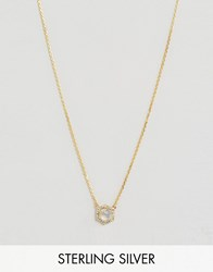 Carrie Elizabeth Hexagon Moonstone And Diamond Pendant Gold