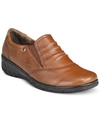 Easy Street Shoes Proctor Flats Women's Tan