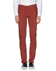 Alviero Martini 1A Classe Trousers Casual Trousers Men Brick Red