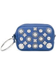 Toga Studded Clutch Blue
