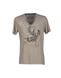 We Are Replay T Shirts Grey