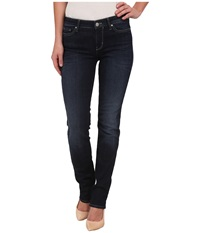Calvin Klein Jeans Straight Leg Jeans In Dark Used Dark Used Women's Jeans Blue