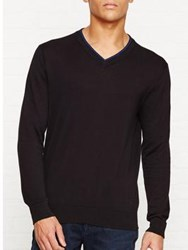 Paul Smith Ps By V Neck Jumper Black