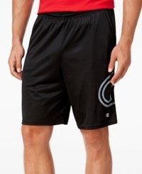 Champion Men's Mesh Shorts Black