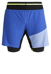 Gore Running Wear Fusion Sports Shorts Brilliant Blue Blizzard Blue
