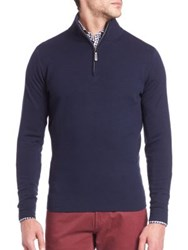 Saks Fifth Avenue Ribbed Sweatshirt With Long Sleeves Grey Bordeaux Navy Grey Black