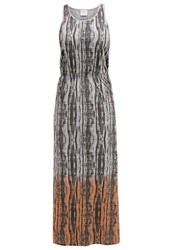 Vero Moda Vmrhea Maxi Dress Light Grey Melange Mottled Light Grey