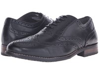 Nunn Bush Tj Wingtip Oxford Black Men's Lace Up Wing Tip Shoes