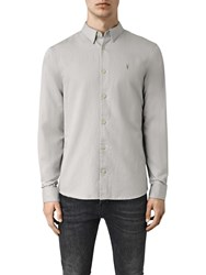 Allsaints Hermosa Long Sleeve Shirt Mirage Blue