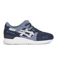 Asics Gel Lyte Iii 'Granite Pack' Trainers Indian Ink White Blue
