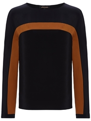 Jaeger Silk Colour Block Blouse