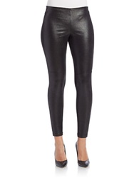 Guess Faux Suede Leggings Black