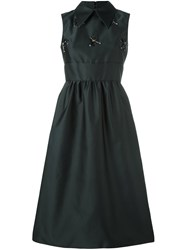 N 21 No21 Structured Sleeveless Dress Black