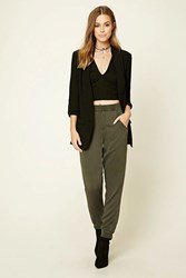 Forever 21 Contemporary Ruched Blazer