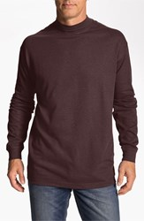 Men's Lone Cypress Pebble Beach Long Sleeve Shirt Heather Wine