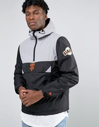 New Era Giants Overhead Jacket Black