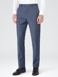 Reiss George Slim Fit Suit Trousers Airforce Blue