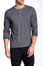 Jacob Holston Barry 3 Button Henley Gray