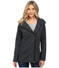 Hurley Winchester Fleece Heather Seaweed Women's Coat Black