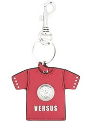 Versus T Shirt Keyring Red