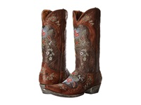 Old Gringo Bonnie 13 Chocolate Brass Cowboy Boots Brown