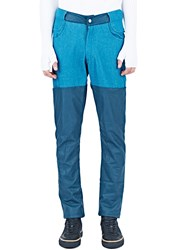 Telfar Leather Cuff Pants Turquoise
