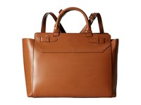 Lodis Audrey Quince Convertible Backpack Toffee Backpack Bags Brown