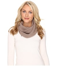 Ugg Luxe Snood Stormy Grey Heather Scarves White