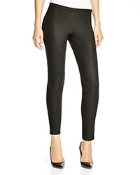 Hue Engineered Matte Jersey Leggings Black