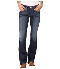 Ariat R.E.A.L. Bootcut Rosey Whipstitch Jeans In Lakeshore Lakeshore Women's Jeans Blue