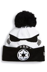 Men's New Era Cap 'Star Wars Stormtrooper' Pompom Knit Beanie