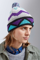 Urban Outfitters Ski Lodge Beanie Purple