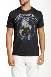 Bravado Metallica Electric Chair Song Graphic Tee Gray