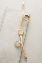 Anthropologie Marbled Rose Watch