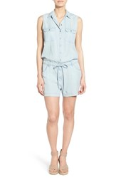 Women's Kut From The Kloth 'Valentina' Denim Romper