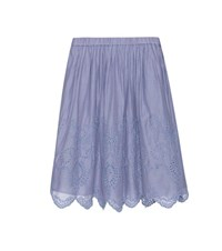 Vanessa Bruno Cotton Skirt Blue
