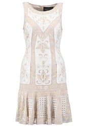 Needle And Thread Cocktail Dress Party Dress Rose Beige Chalk