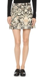Ganni Turlington Lace Miniskirt Vanilla Ice