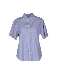 M.Grifoni Denim Shirts Short Sleeve Shirts Women